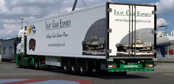 Photo of Islay Crab Exports Skin Pack V1.0 ETS2 1.40