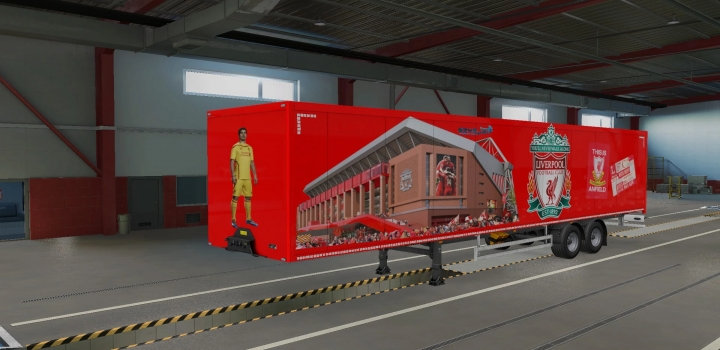 Photo of Liverpoolfc Box Trailer ETS2 1.40