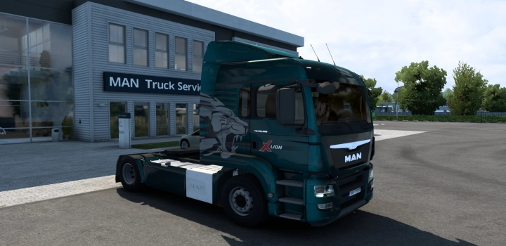 Photo of Man Tgs V1.2 (Madster) Fmod & Open Window ETS2 1.40