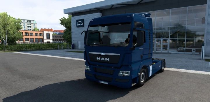 Photo of Man Tgx V2.5 (Madster) Fmod & Open Window ETS2 1.40