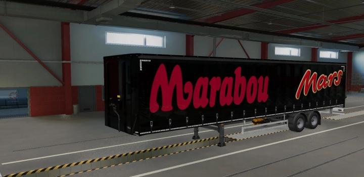 Photo of Marabou Trailer ETS2 1.40
