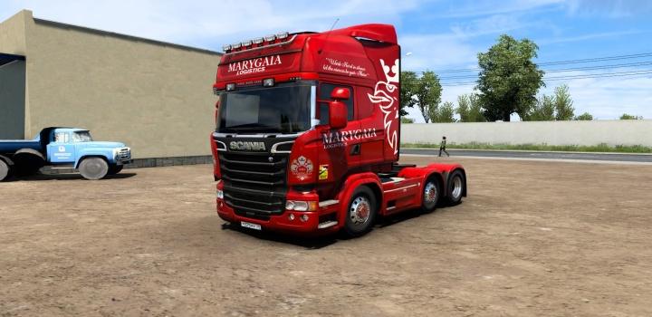 Photo of Marygaia Logistics Skin V1.0 ETS2 1.40