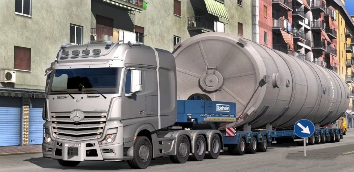 Photo of Mercedes Actros Open Pipe Sound Reworked V2.0 ETS2 1.40