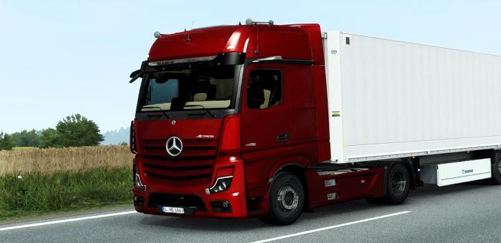 Photo of Mercedes-Benz New Actros 2019 V1.6.1 ETS2 1.40