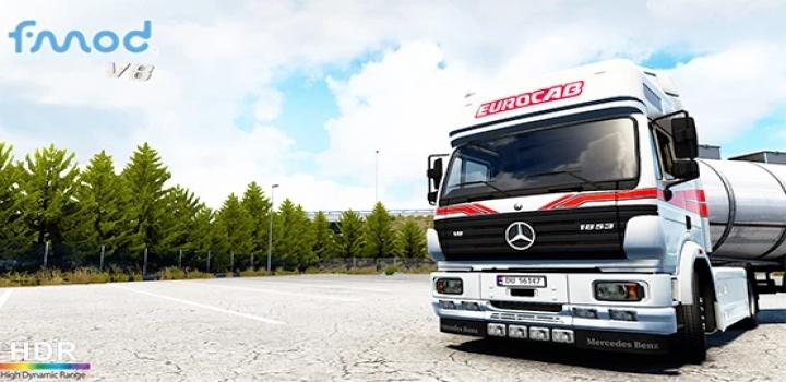 Photo of Mercedes-Benz Sk V8 Eps Gearbox V1.0 ETS2 1.40