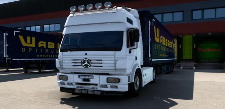 Photo of Mercedes Benz Sk V8 Open Pipe V1.0 ETS2 1.40