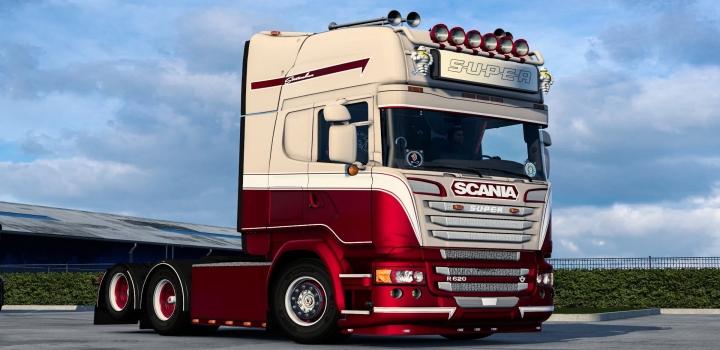 Photo of Metallic Skin for Scania V1.0 ETS2 1.40