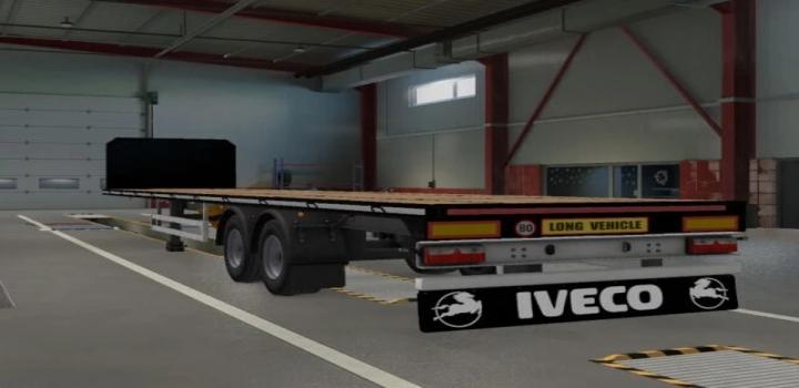 Photo of Mudflaps For Most Scs Trucks V1.0 ETS2 1.40