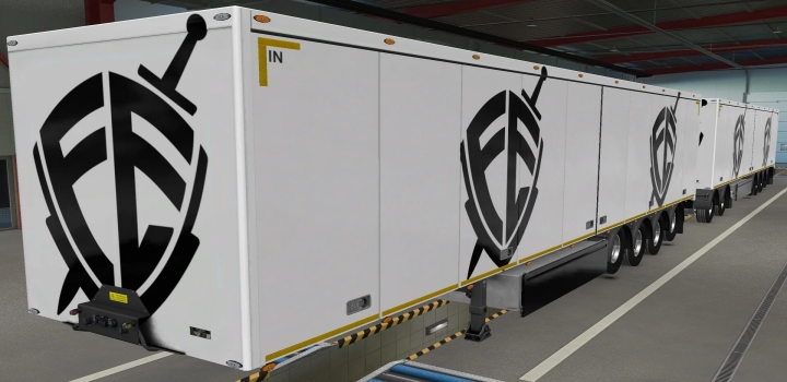 Photo of Owned Trailers Scs Escudo Fe Skin ETS2 1.40