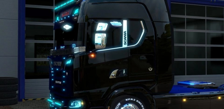 Photo of Scania Next Gen Remoled V2.0 Fixed ETS2 1.40