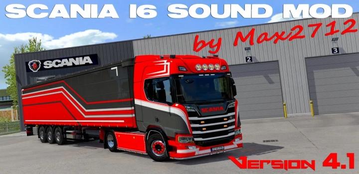 Photo of Scania Nextgen I6 Sound V4.1 ETS2 1.40