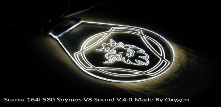 Photo of Scania Soynios V8 Sound ETS2 1.40