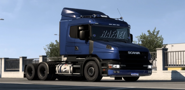 Photo of Scania T And T 124G Brazilian Edit ETS2 1.40