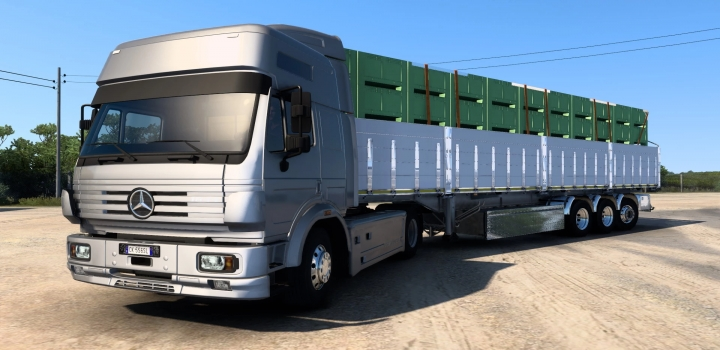Photo of Semitrailers Pack V1.0 ETS2 1.40