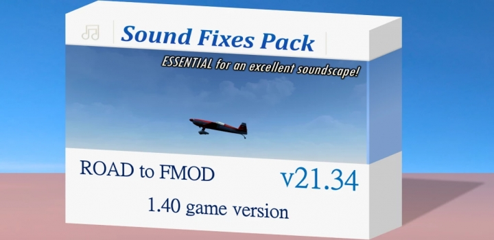 Photo of Sound Fixes Pack V21.34 ETS2 1.40