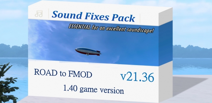Photo of ETS2 – Sound Fixes Pack V21.36 (1.40.x)