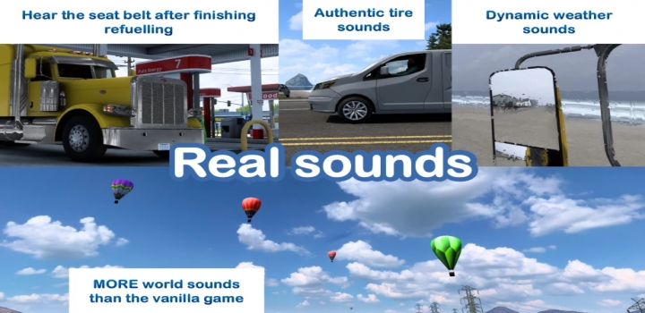 Photo of Sound Fixes Pack V21.37 ETS2 1.40