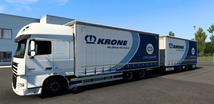 Photo of Tandem Krone Daf Xf 105 ETS2 1.40