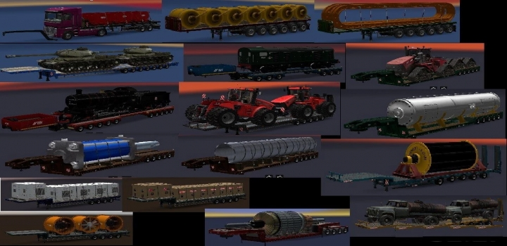 Photo of Trailers Pack V9.16.1 ETS2 1.40