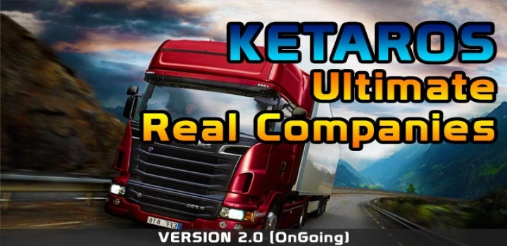 Photo of Ultimate Real Companies V2.0 ETS2 1.40