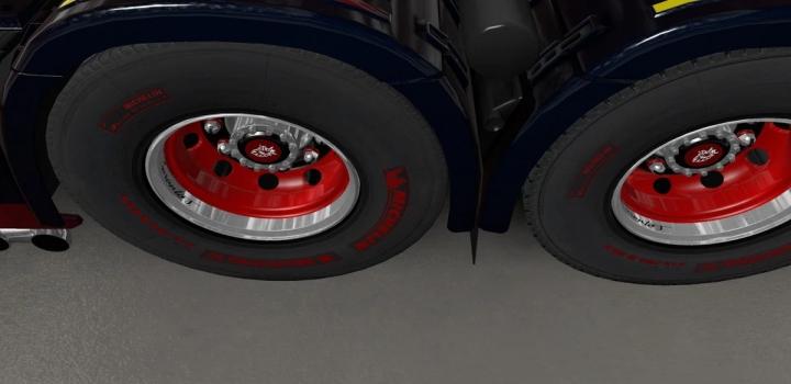 Photo of V8K Blaine Wheels Rework By Solutech V1.1 ETS2 1.40