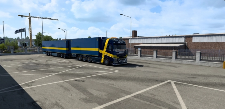 Photo of Volvo Fh16 2012 Mega Mod By Rpie ETS2 1.40.4.0S