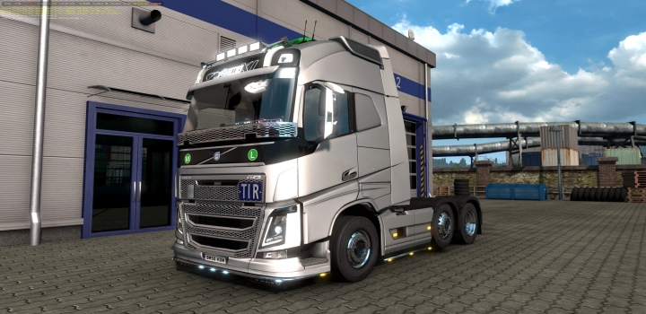 Photo of Volvo Fh16 2012 Reworked By Eugene Unofficial Update V3.1.6 Fixed ETS2 1.40