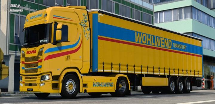 Photo of Wohlwend Transport Scania Skinpack V1.0 ETS2 1.40