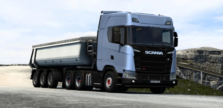 Photo of Xt Addons For Scania R&S Next-Gen V1.0 ETS2 1.40