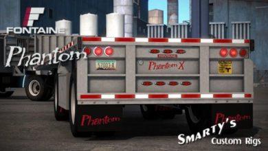 Photo of Fontaine Phantom Trailer V1.1.3 ATS 1.40