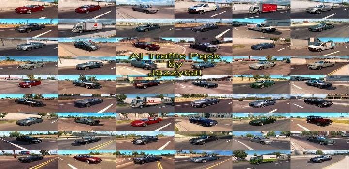 Photo of Ai Traffic Pack V10.8 ATS 1.40