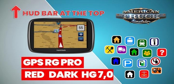 Photo of Gps Rg Pro Red Dark Hg V7.0 ATS 1.40
