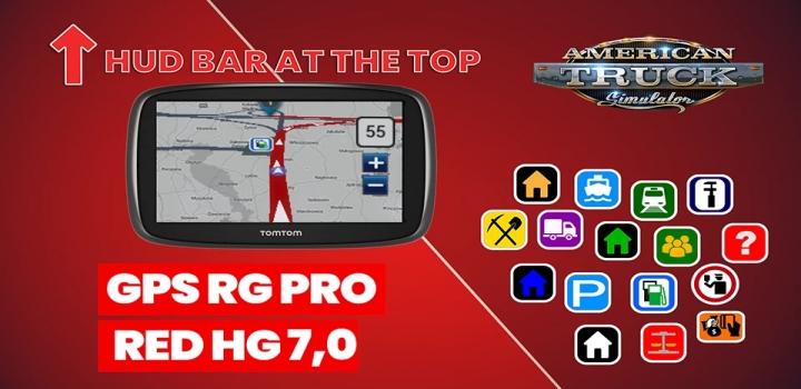 Photo of Gps Rg Pro Red Hg V7.0 ATS 1.40