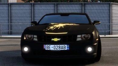 Photo of 2012 Chevrolet Camaro Zl1 V3.0 ETS2 1.40