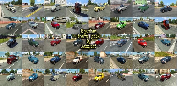 Photo of Brazilian Traffic Pack V3.1 ETS2 1.40