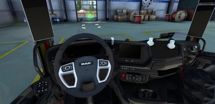 Photo of Daf Custom Interior Superblack ETS2 1.40