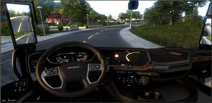 Photo of Dashboard Light Daf Xg 2021 Pack V1.1 ETS2 1.40