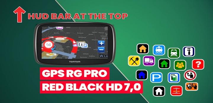 Photo of Gps Rg Pro Red Black Hg V7.0 ETS2 1.40