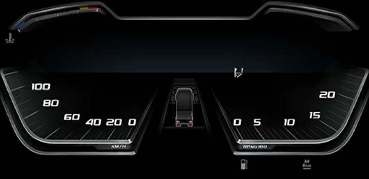 Photo of High Quality Dashboard – Daf 2021 Xg & Xg+ V1.1 ETS2 1.40