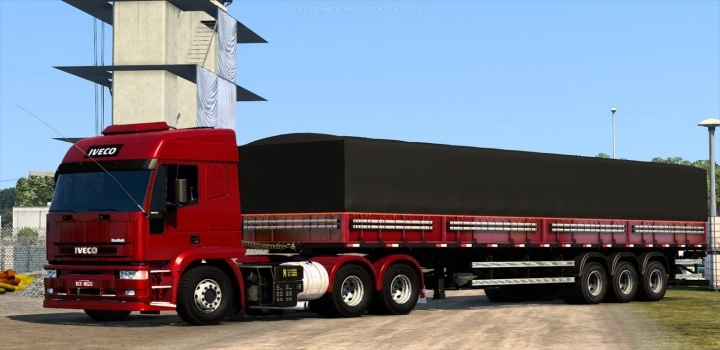 Photo of Iveco Stralis (Eurotech) Brazil Edit ETS2 1.41
