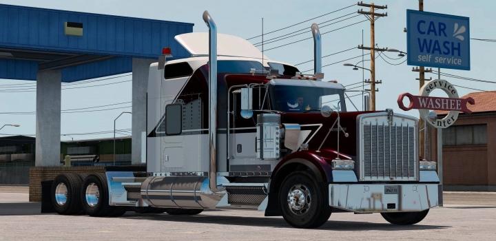 Photo of Kenworth W900B Truck V1.3 ETS2 1.40