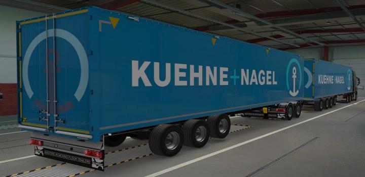 Photo of Kraker Walkingfloor Kuehne + Nagel Skin ETS2 1.40