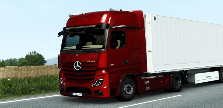 Photo of Mercedes-Benz New Actros 2019 ETS2 1.40