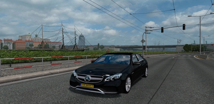Photo of Mercedes E63 Reworked ETS2 1.41
