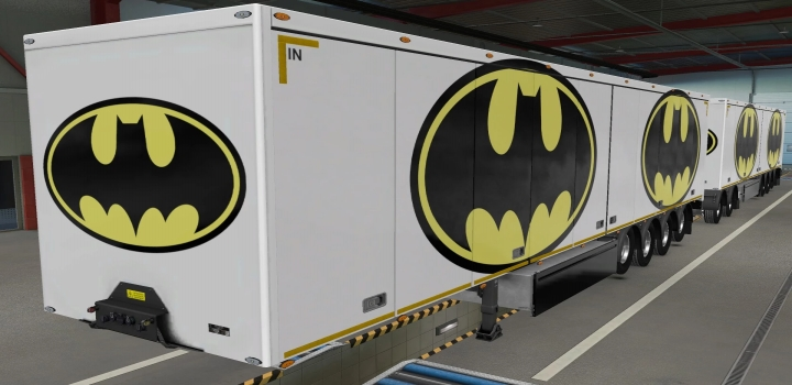 Photo of Owned Trailers Scs Batman Skin ETS2 1.40
