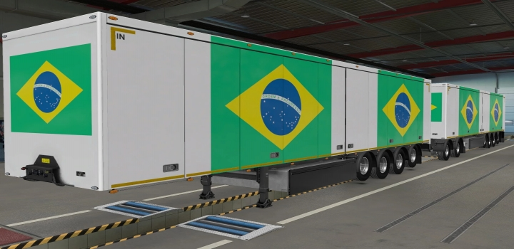 Photo of Owned Trailers Scs Brazil Skin ETS2 1.40