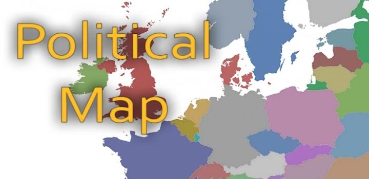 Photo of Political Background Map Full Release V1.0 ETS2 1.40
