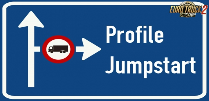 Photo of Profile Jumpstart: Cash & Xp Boost V8.01 ETS2 1.41