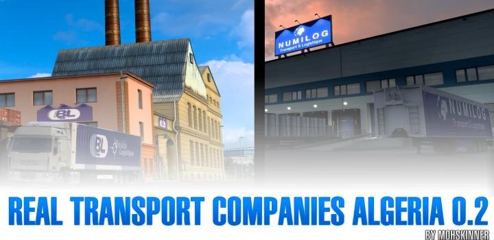 Photo of Real Transport Companies Algeria V0.2 ETS2 1.40