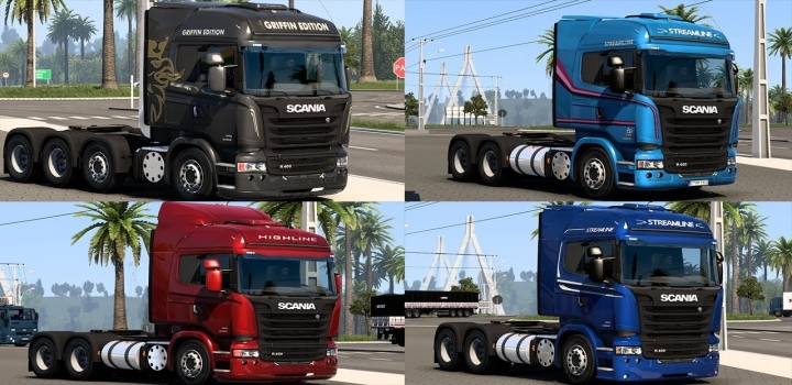 Photo of Scania Br Series & Various Accessories ETS2 1.40